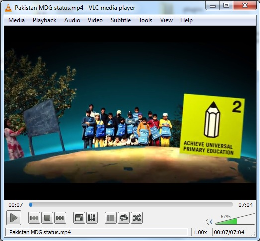 Pakistan MDG status