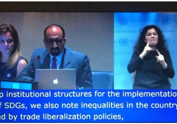 Speech at UN-Picture
